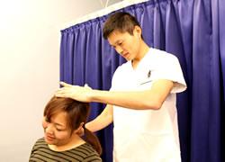京都府宮津市よこまち鍼灸整骨院の頭痛治療の写真
