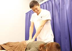 京都府宮津市よこまち鍼灸整骨院の坐骨神経痛施術